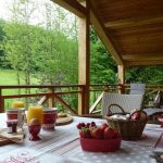 Cottage La Linotte - balkon