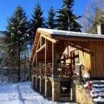 Cottage La Linotte - cottage winter