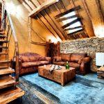 Vakantiehuis La Merveille - woonkamer