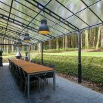 Vakantiehuis Les Cygnes Noirs - veranda