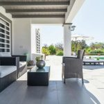 Vakantiehuis Can Parreta - terras
