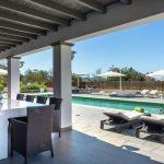 Vakantiehuis Can Parreta - terras zwembad