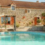 Vakantiehuis La Pouzaque - zwembad