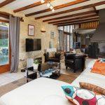 Vakantiehuis La Pouzaque - woonkamer