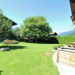 Chalet Auszeit XL - tuin zomer