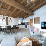 Vakantiehuis Green Garden Lodge A2 Walchen-Kaprun - woonkamer