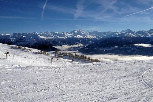 Skigebied Crans - Montana