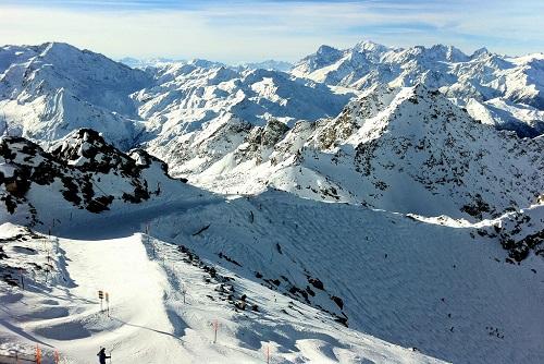 Skigebied Les 4 Vallées