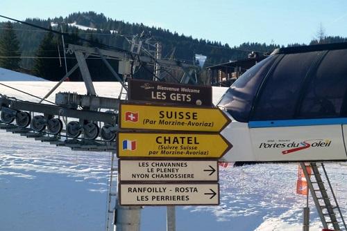 Skigebied - Les Portes du Soleil
