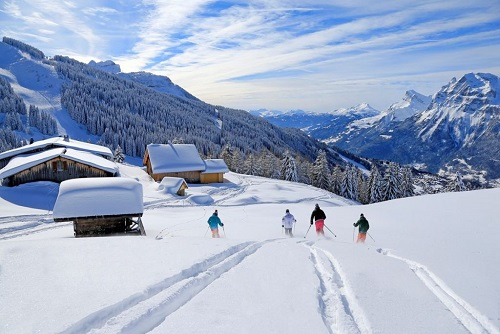 Skigebied - Massif des Aravis